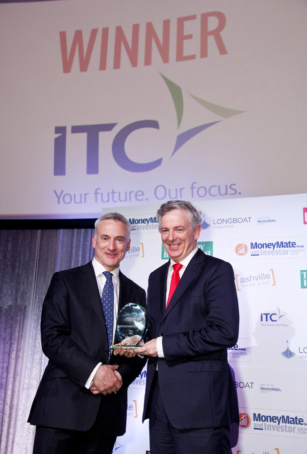 ITC wins Independent Trustee Firm of the Year 2016