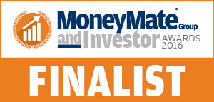 Finalists at the MoneyMate & Investor Awards 2016