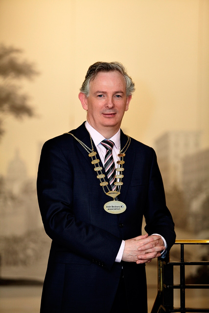 Aidan McLoughlin Appointed New IBA President